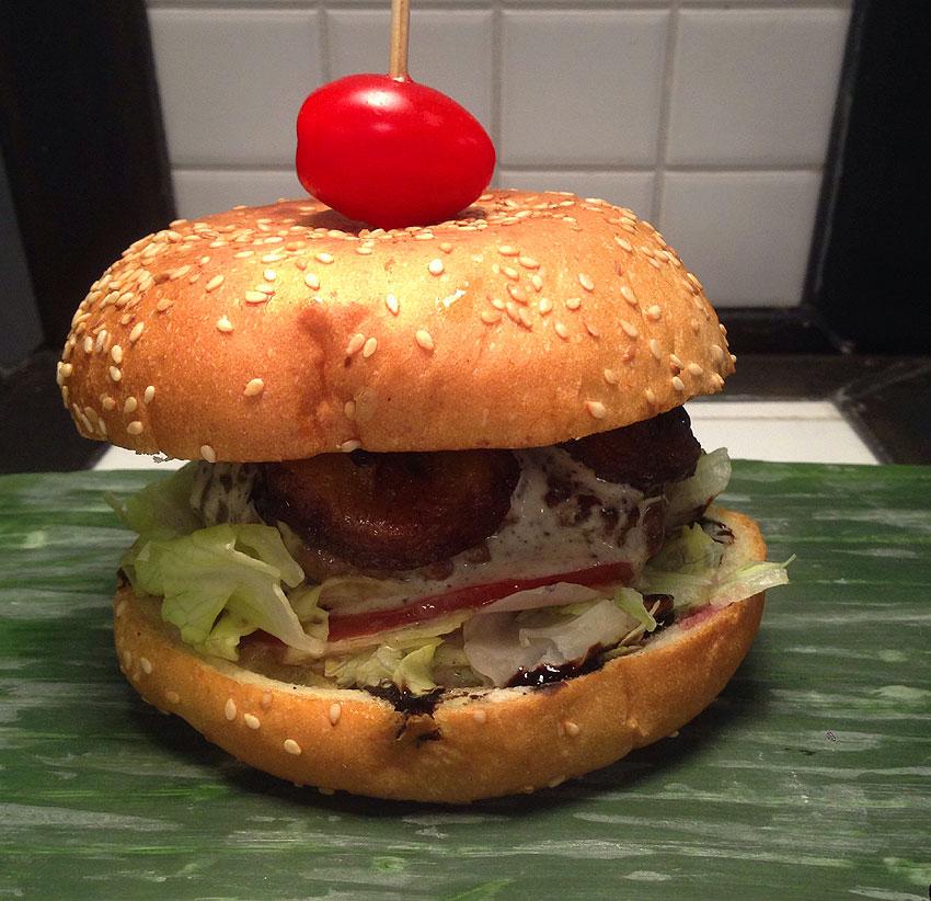 Dschungel Burger
